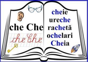grupurile de litere - grupul CHE