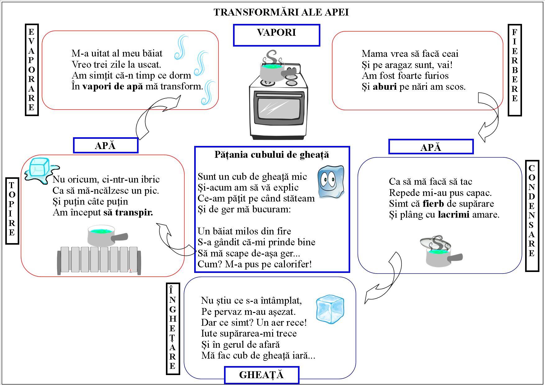 Transformările apei