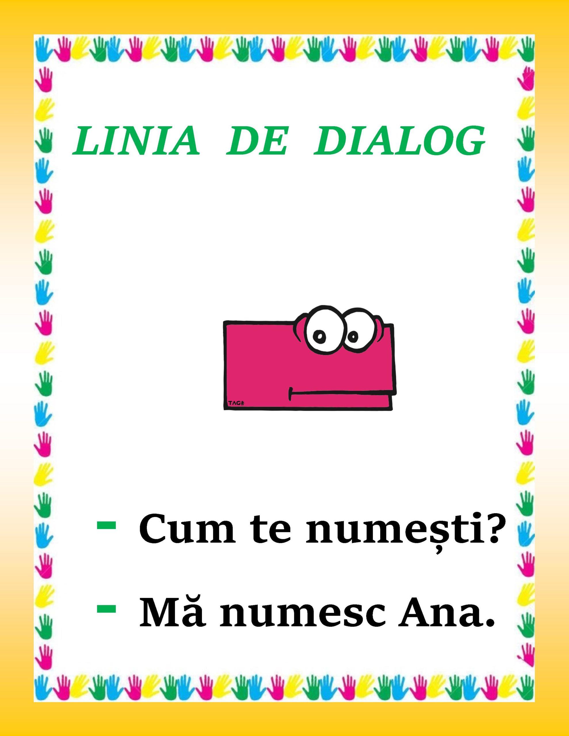 Linia de dialog