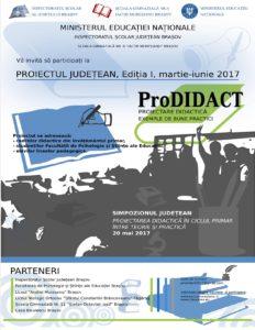Proiectul județean ProDIDACT