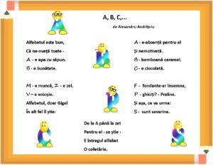 A, B, C...