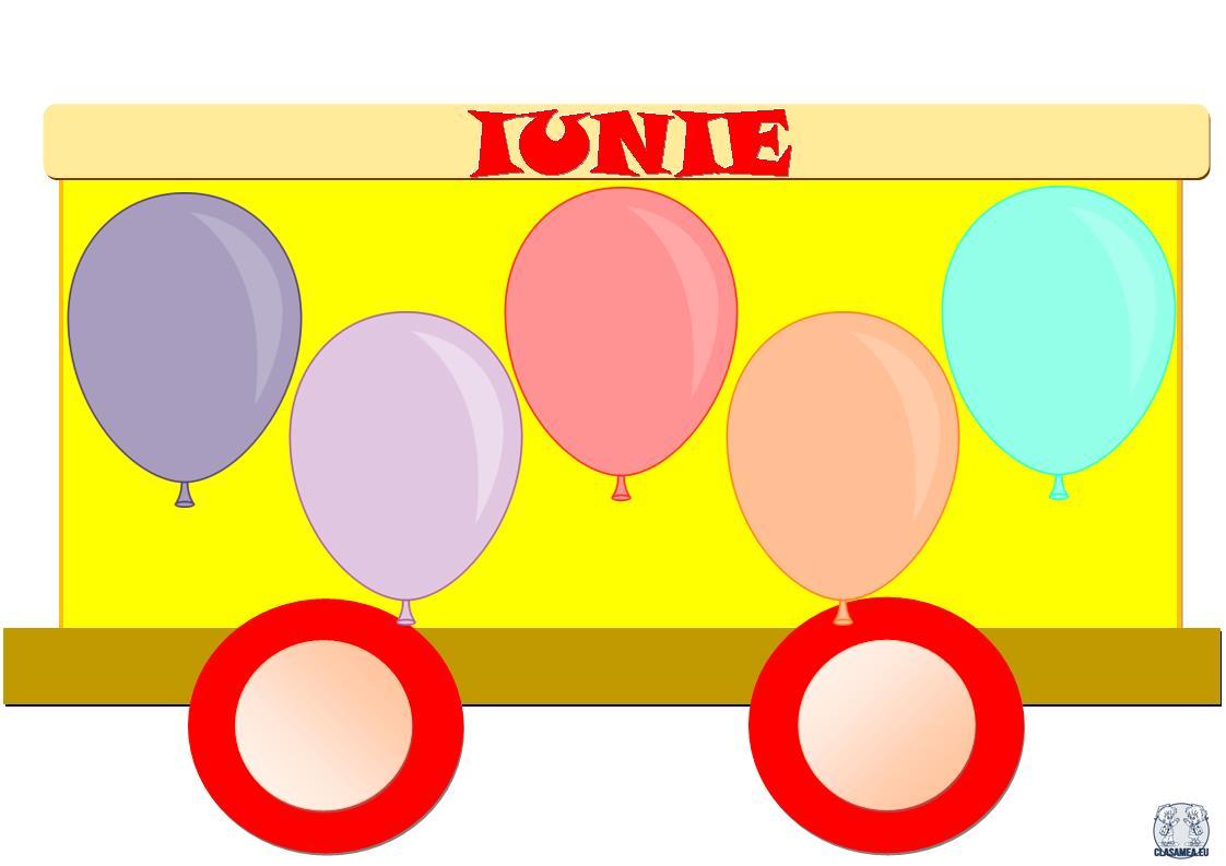 Trenuleț aniversar. Iunie