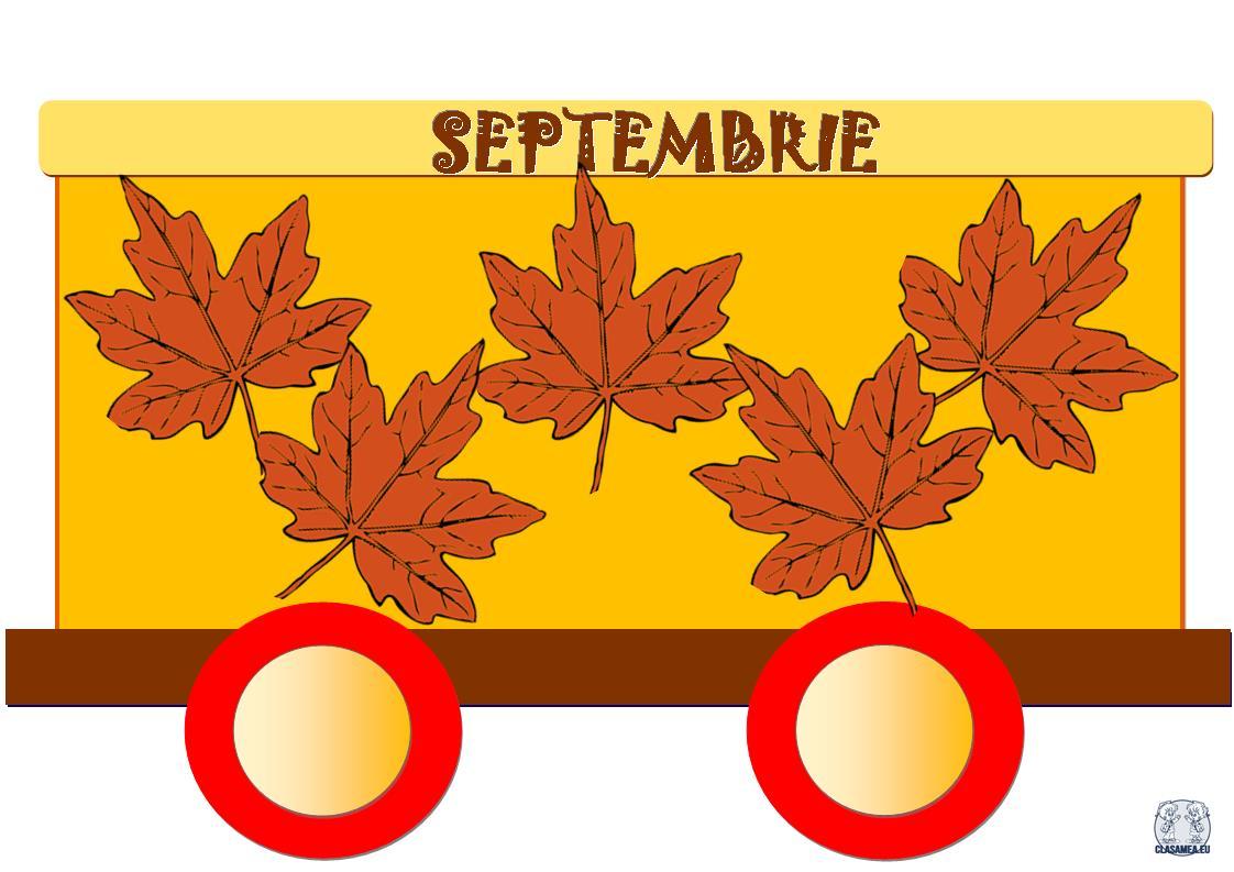 Trenuleț aniversar. Septembrie