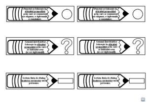 Recapitularea semnelor de punctuație - Semne de punctuație pe creioane