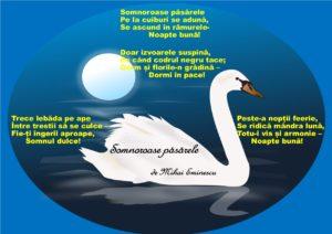 Somnoroase Păsărele De Mihai Eminescu Moment Aniversar