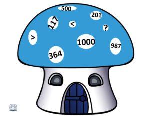 Numerele naturale în concentrul 0-1000