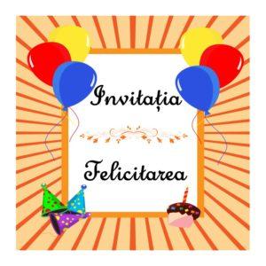 Invitația și felicitarea