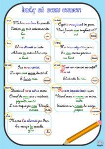 Învăț să scriu corect!