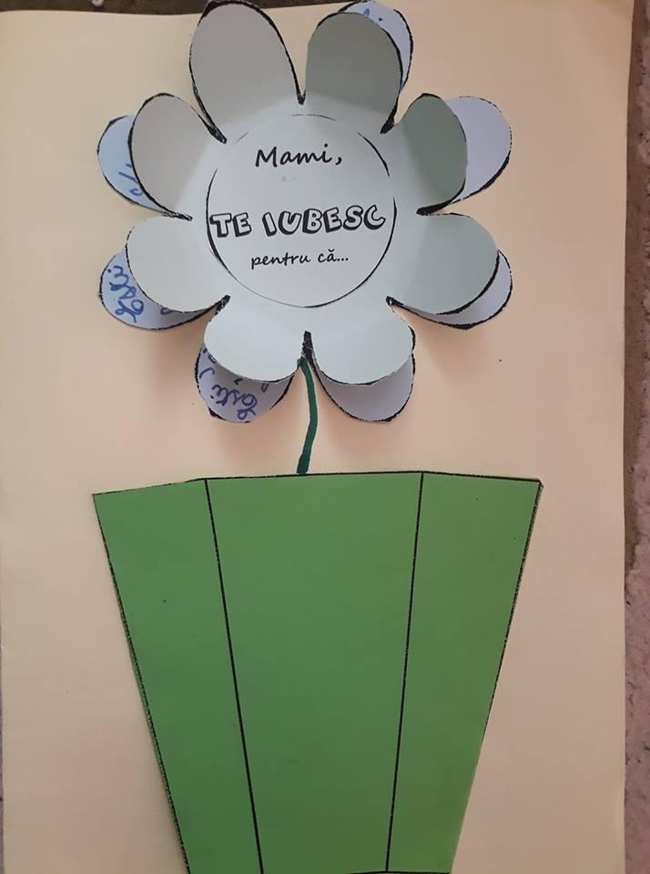 O floare pentru mama - felicitare